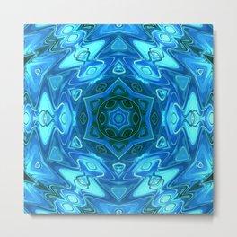 Star Flower of Symmetry 359 Metal Print