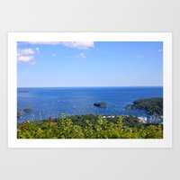 Mount Battie Art Print
