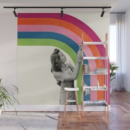 Paint a Rainbow Wall Mural