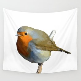 Red Robin Wall Tapestry