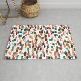 Tropical Relaxing Dots Rug