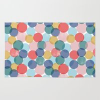 bubble Area & Throw Rugs featuring Bubble by Emmyrolland