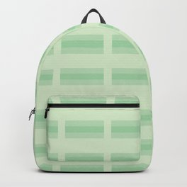 Checkered Lines Stripes Seamless Vector Pattern Backpack