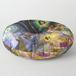 Fairground Attraction (diptych - right side) Floor Pillow