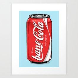 Bane Cola Art Print