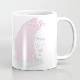 Happy Vegan! Coffee Mug
