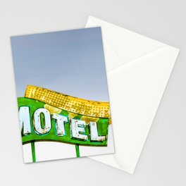 Vacation Neon Stationery Cards