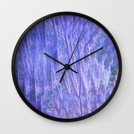 Kaleidoscope Trees Wall Clock