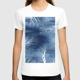 Midnight Trees Classic Blue T-shirt