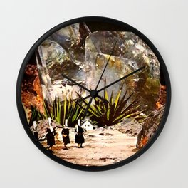 """Holy Diamonds"" Wall Clock"