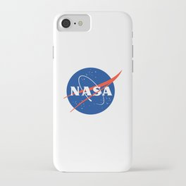NASA logo Space Agency Astronaut iPhone Case