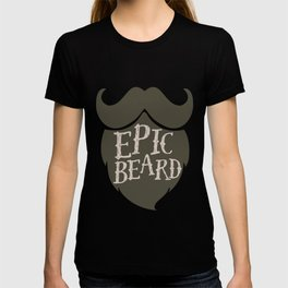 Epic Beard dark brown T-shirt