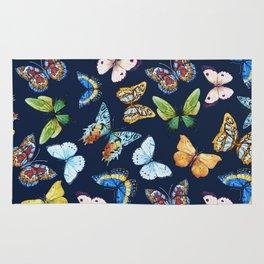 Butterfly Pattern 03 Rug