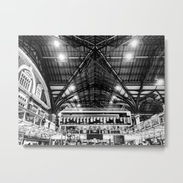 Liverpool Street Station Metal Print