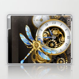 Dials with Dragonfly ( Steampunk ) Laptop & iPad Skin