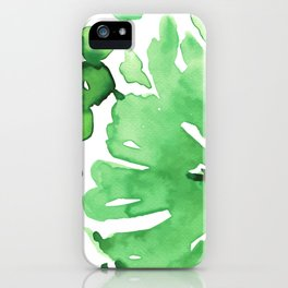 Abstract floral & square #11 iPhone Case