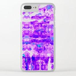 Bioluminescence 2 Clear iPhone Case