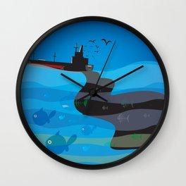 go humans! Wall Clock