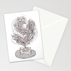 the music maker Stationery Cards