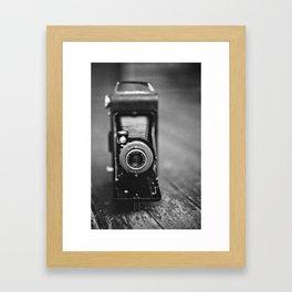 Old Kodak Film Camera Framed Art Print
