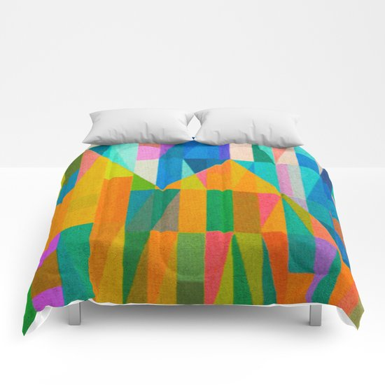 By Climbing Colors Comforters