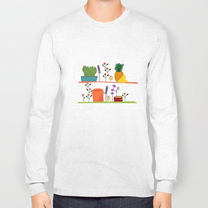Happy shelf Long Sleeve T-shirt