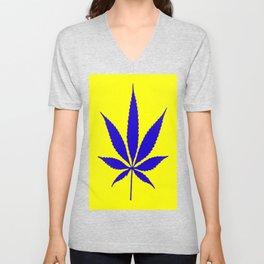 Weed Hash Bash Unisex V-Neck