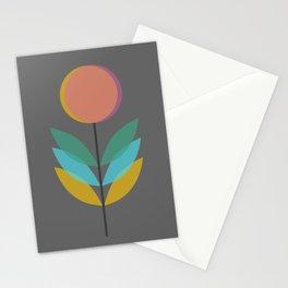 Overlap Flower Stationery Cards