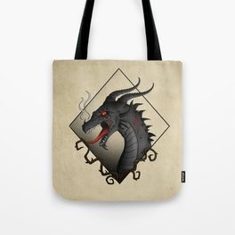 Dragon Hellfire Tote Bag