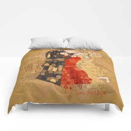 The Invention of the Kiss Comforters