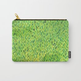 Watercolor Grass Pattern Green by Robayre Carry-All Pouch