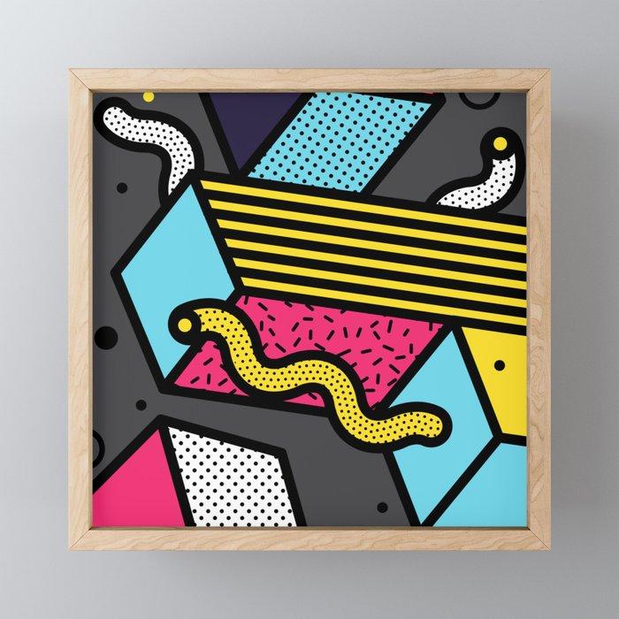 Jagger Framed Mini Art Print
