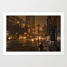 Nanjing I Art Print