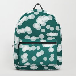 Blurry Lights: Teal Backpack