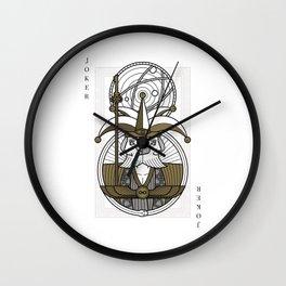 Omnia Illumina male Joker - janus Wall Clock