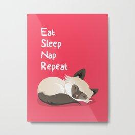 Cat's Life Metal Print