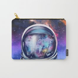 astronaut world map 1 Carry-All Pouch