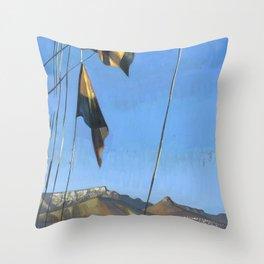South Africa, le Cap Throw Pillow