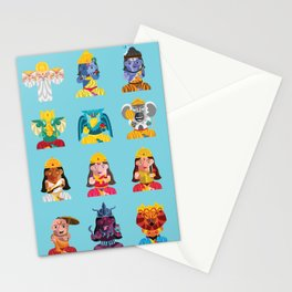 Indian Box Dolls Stationery Cards