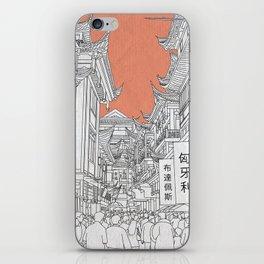 Street in China iPhone Skin