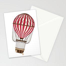 Retro Balloonist Ballooning Hot Air Balloon Pilot Gift Stationery Cards