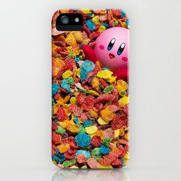 Kirby Pebbles iPhone Case