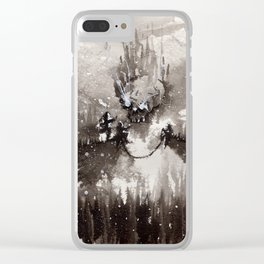 """""""Catchers Point"""" Clear iPhone Case"""