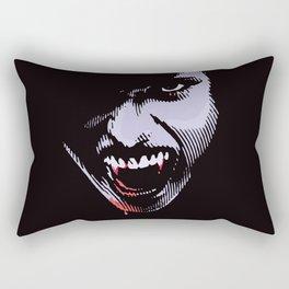 Scary Female Vampire Rectangular Pillow