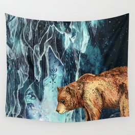 BearCave Wall Tapestry