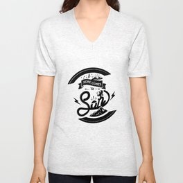 Here Comes The Son Unisex V-Neck