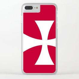 Wallis Flag Clear iPhone Case