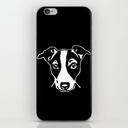 A HAPPY JACK  RUSSELL TERRIER CHRISTMAS FROM US AT MONOFACES  iPhone Skin