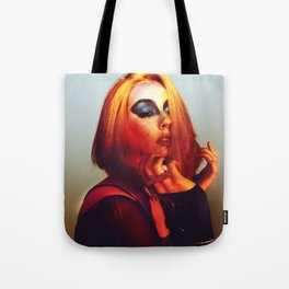 Rainbow Bowie  Tote Bag