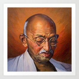 Halcyon - Gandhi Art Print